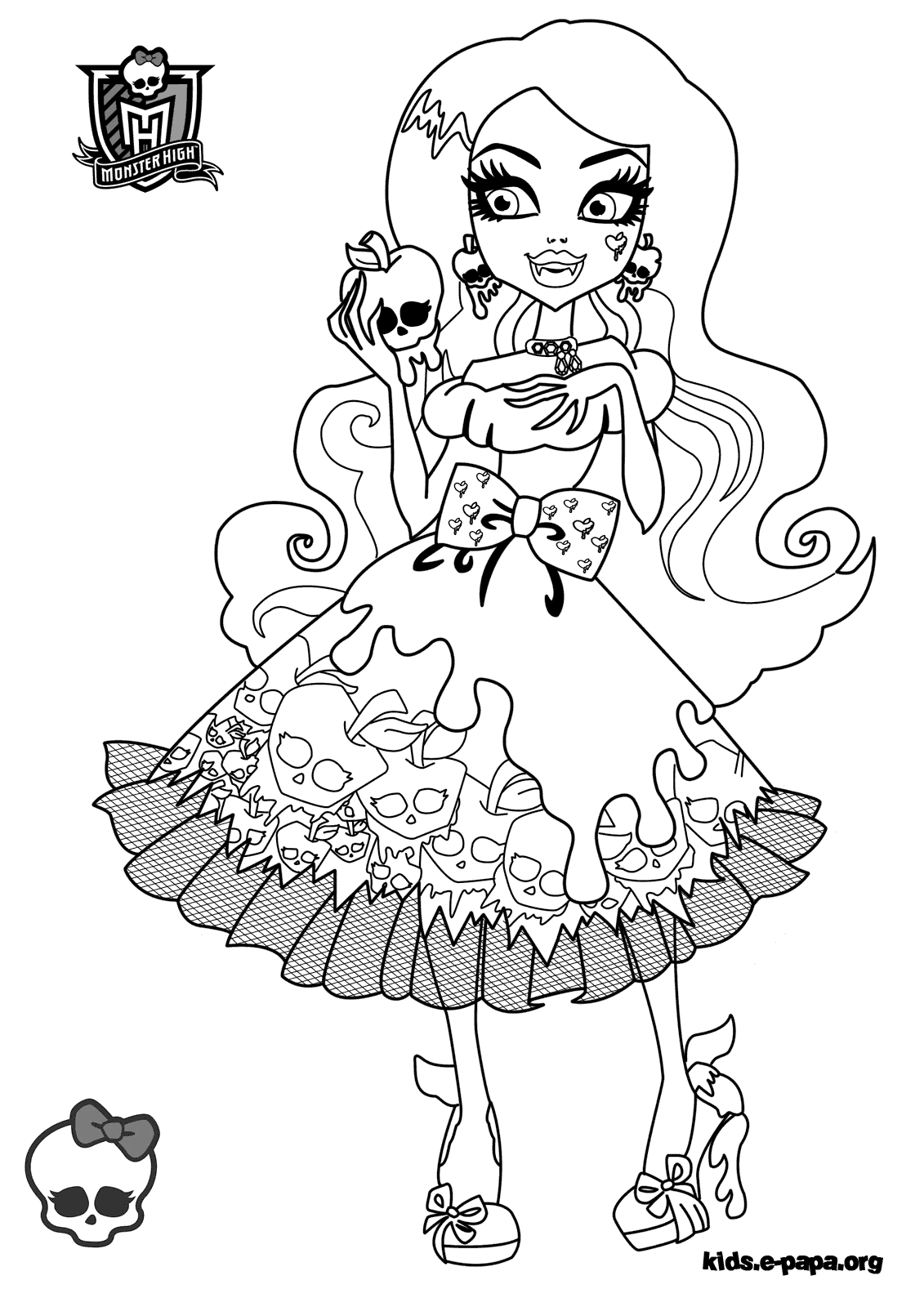 Ausmalbilder Monster High Lagoona Blue : Monster High Coloring Pages Draculaura And Clawd Ratejna