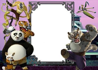 Сornice Kung Fu Panda